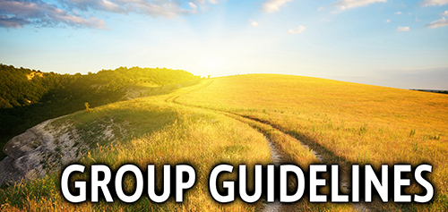 Small Group Guidelines will ensure that your small group is a safe place.